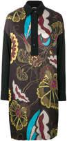 I'M Isola Marras floral shirt dress