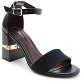 Kensie Saleema Block Heel Sandal