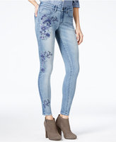 William Rast The Perfect Skinny Azusa Wash Embroidered Jeans