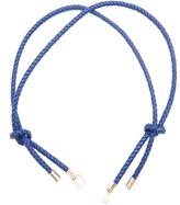 Valextra Iside plaited-leather bag strap