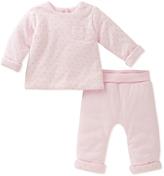 Absorba Pink Pin Dot Top & Pants - Infant