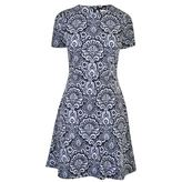 MICHAEL Michael Kors Jacquard Print Dress
