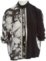 Lala Berlin Black Silk Top for Women
