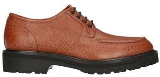 Dries Van Noten Grained leather derbies