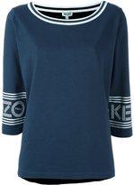 Kenzo boat neck T-shirt