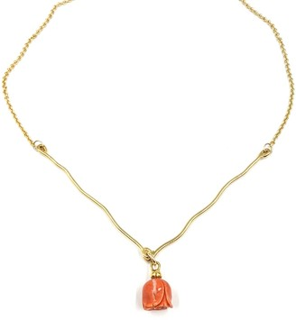"""The """"V"""" Coral Necklace"""