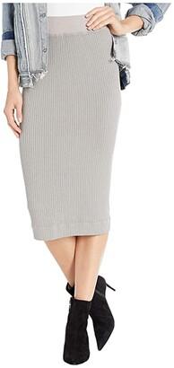 Hard Tail Midi Pencil Skirt (Hickory) Women's Skirt