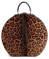 Saint Laurent Medium Mica Genuine Calf Hair Hat Box