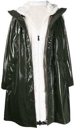 Moncler Pott hooded raincoat