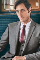 Next Light Grey Regular Fit Travel Suit: Jacket