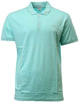 Calvin Klein Men's Regular Fit Liquid Cotton Solid Polo Shirt
