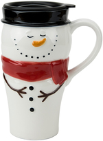 Boston Warehouse 24-Oz. Snowman Travel Mug