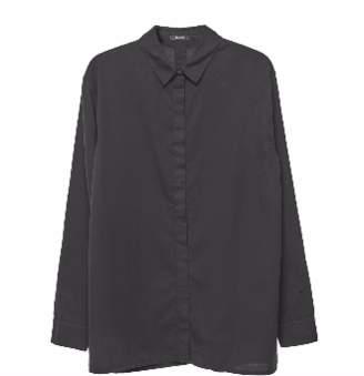 Denham Jeans The Jeanmaker - Icon Black Shirt - 12 UK - Black