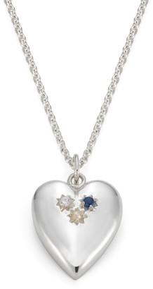 Harry Rocks Heirloom Heart Pendant - Silver