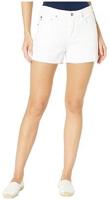 AG Jeans Hailey Cutoffs Shorts in 1 Year Optic White (1 Year Optic White) Women's Shorts