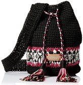 Sakroots Artist Circle Crochet Drawstring Cross Body