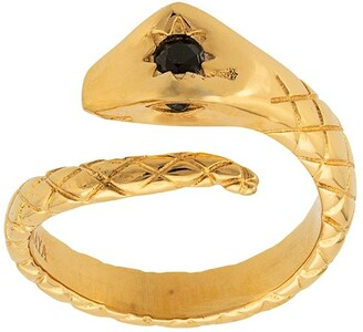 Nialaya Jewelry Skyfall Twisted Snake ring