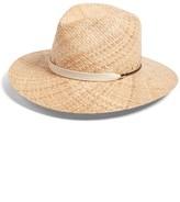Rag & Bone Women's Wide Brim Raffia Hat - Beige