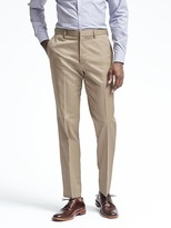 Banana Republic Standard Fit Non-Iron Solid Pant