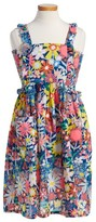 Stella McCartney Girl's Celeste Floral Print Dress