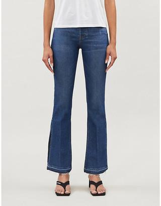 3x1 x Mimi Cuttrell Kellie flared high-rise jeans