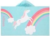 Pottery Barn Kids Unicorn Rainbow Beach Wrap