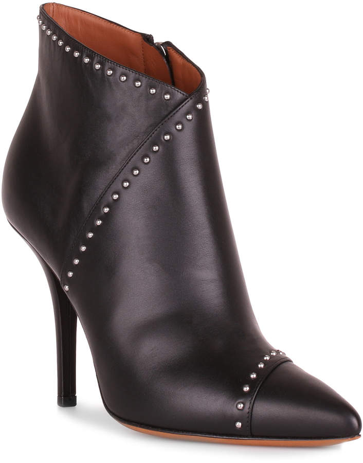 Givenchy Elegant black leather ankle boot