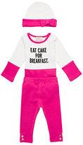 Kate Spade Layette eat cake for breakfast box set