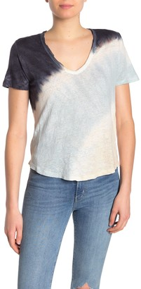 Young Fabulous & Broke Yfb By Essential Linen Tie-Dye T-Shirt