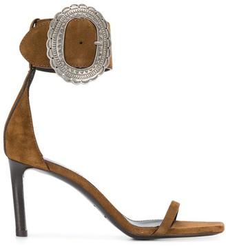 Saint Laurent Mica buckle sandals