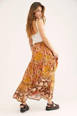 Free People Spell And The Gypsy Collective Buttercup Maxi Skirt by Spell and the Gypsy Collective at