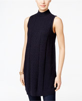 Style&Co. Style & Co. Mock-Neck Tunic Sweater, Only at Macy's