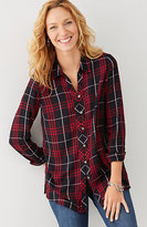 J. Jill Yarn-Dyed Plaid Shirt