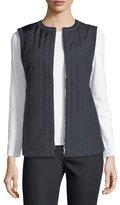 Lafayette 148 New York Bailey Alpine Outerwear Vest