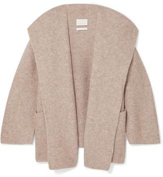 LAUREN MANOOGIAN Knitted Coat - Beige