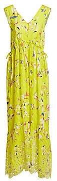 Tanya Taylor Women's Catalina Sleeveless Print Maxi Dress