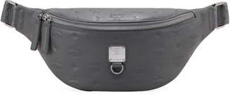 MCM Fursten Small Monogrammed Leather Belt Bag