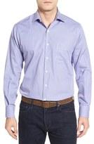 Peter Millar Men's 'Monterey' Regular Fit Microcheck Sport Shirt