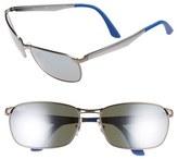 Ray-Ban Men's 62Mm Sunglasses - Matte Blue/ Gunmetal