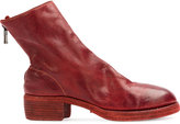 Guidi zip detail ankle boots - women - Horse Leather - 36