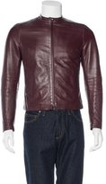 Neil Barrett Lambskin Leather Jacket
