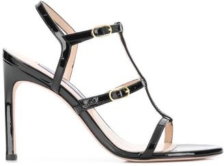 Stuart Weitzman Varnish Sandals