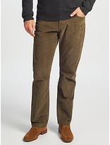 John Lewis Five Pocket Needle Cord Trousers