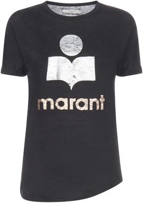 Etoile Isabel Marant Koldi Metallic Print T-Shirt