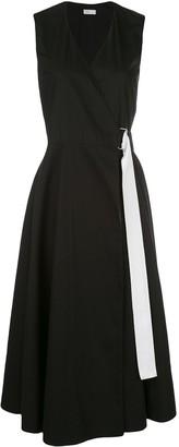 Rosetta Getty Belted Wrap Dress