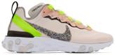 Nike Pink React Element 55 Premium Sneakers