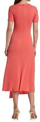 Halston Lauren Jersey T-Shirt Dress