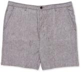 John Varvatos Linen Printed Shorts