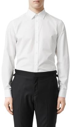 Burberry TB Embroidered Slim Fit Poplin Shirt
