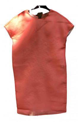 Fendi Orange Silk Dresses